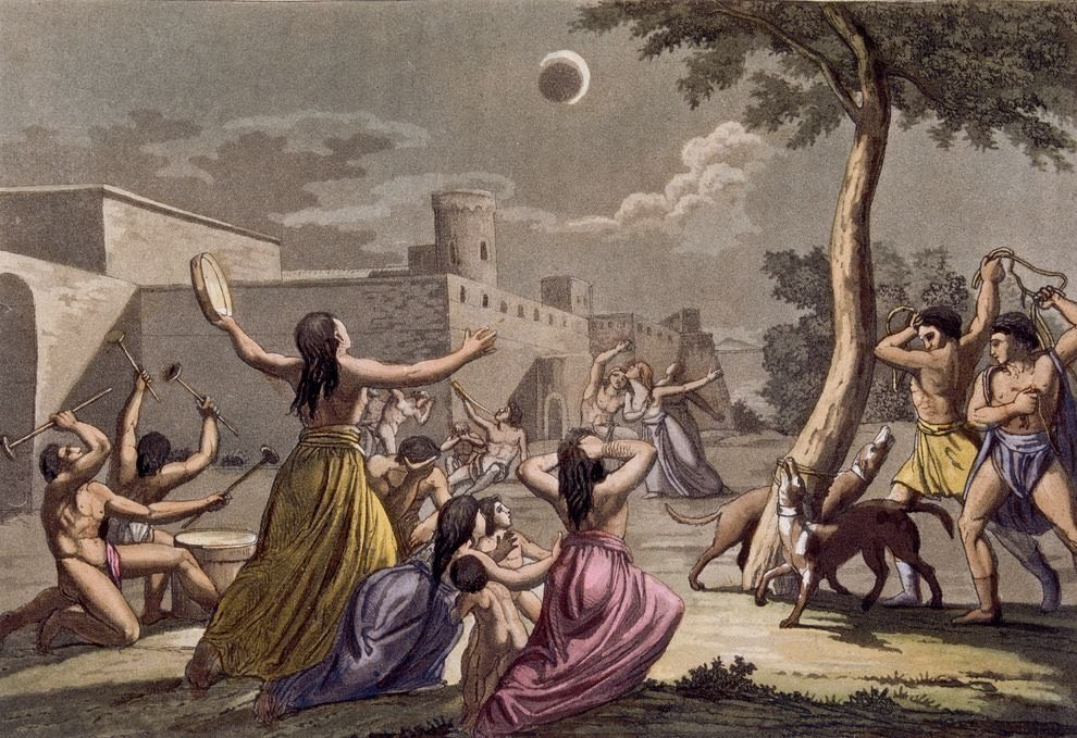 Myths on eclipses