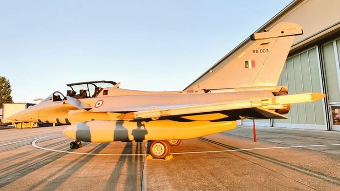 IAF Rafale fighter jets, 1st batch, ambala