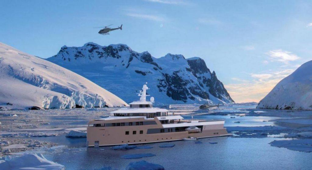 private ice-breaker yacht,
