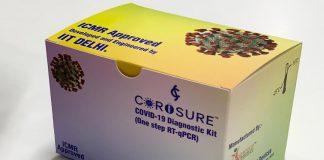 Corosure, IIT Delhi, Covid-19 Kit