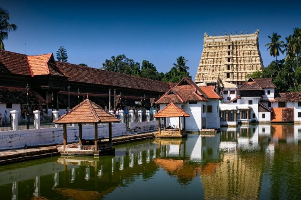 sree padmanabhaswamy temple, CBSE class 12
