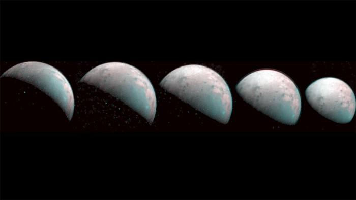 NASA, north pole, jupiter, largest moon,
