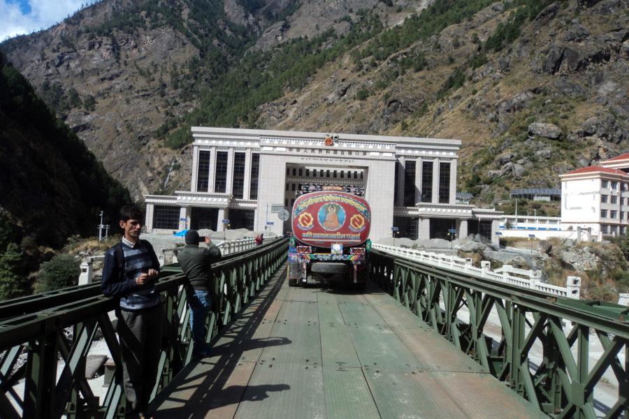 Nepal-China border