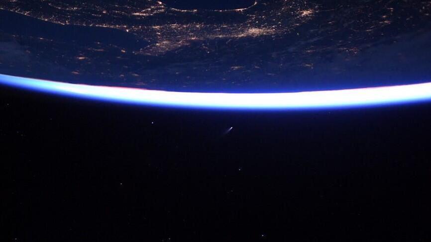 NASA, Comet, Neowise, final semester