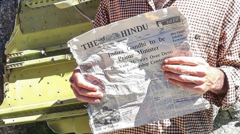 indian newspaper, french glacier, glacier melting,