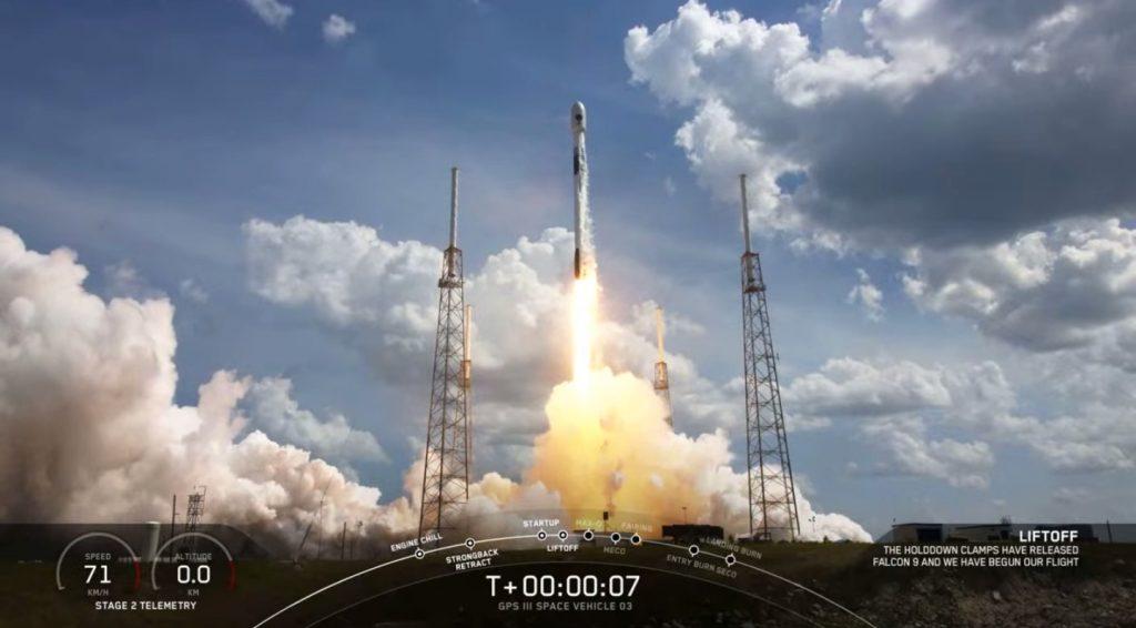 SpaceX, GPS satellite,