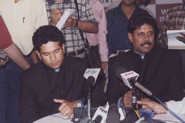 Kapil Dev, Sachin Tendulkar,