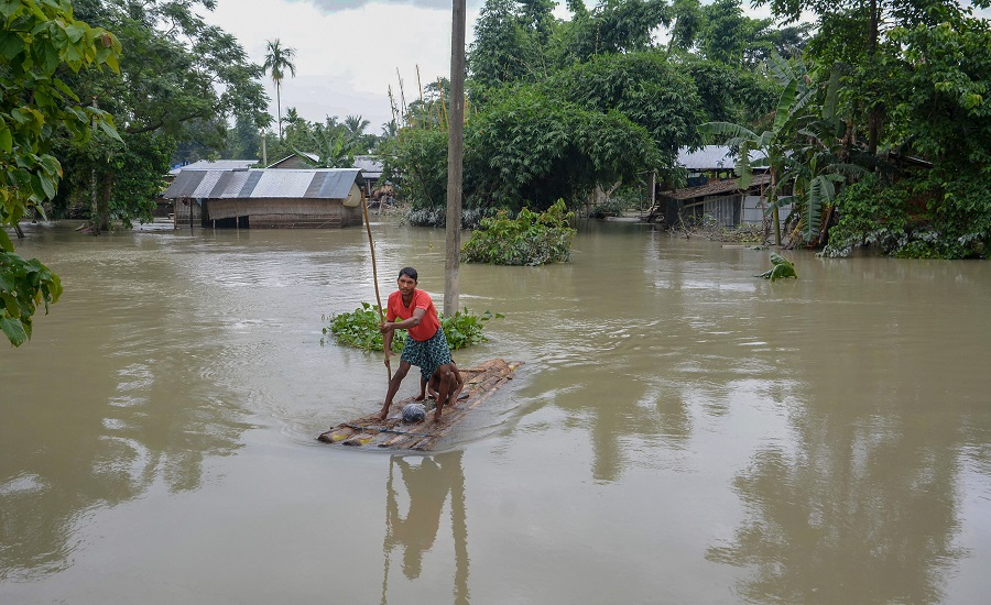 Sunil Chhetri, Assam Flood