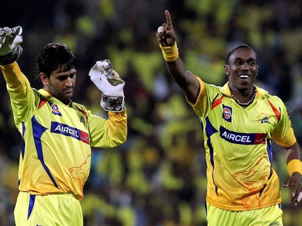 MS Dhoni, Dwayne Bravo, helicopter 7 song
