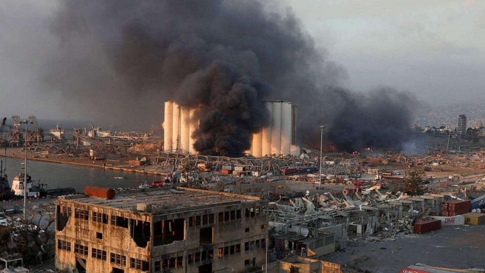 Beirut explosion, Beirut blast, Lebanon explosion, Lebanon Blast
