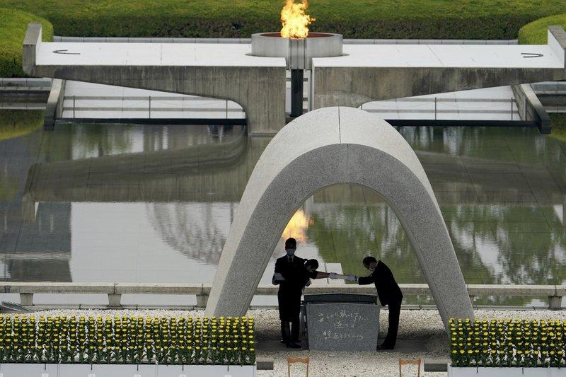 75th anniversary of the world's 1st atomic bombing in Hiroshima