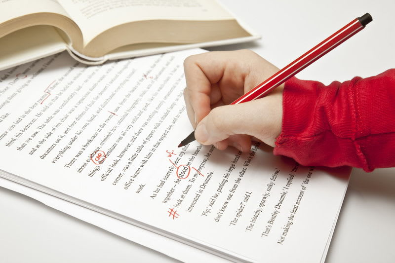 proofreading, hobbies