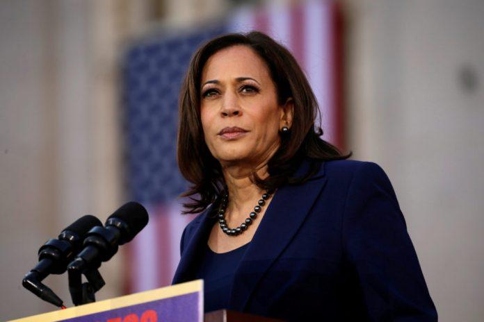 US Senator, Kamala Harris, US Vice Presidential candidate