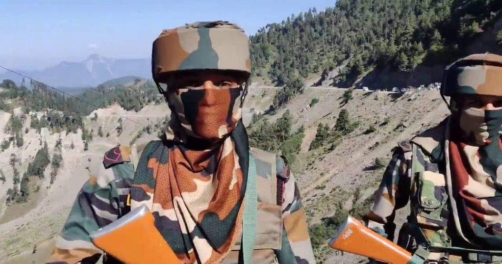 women soldier, LOC, Kashmir, IIM CAT 2020