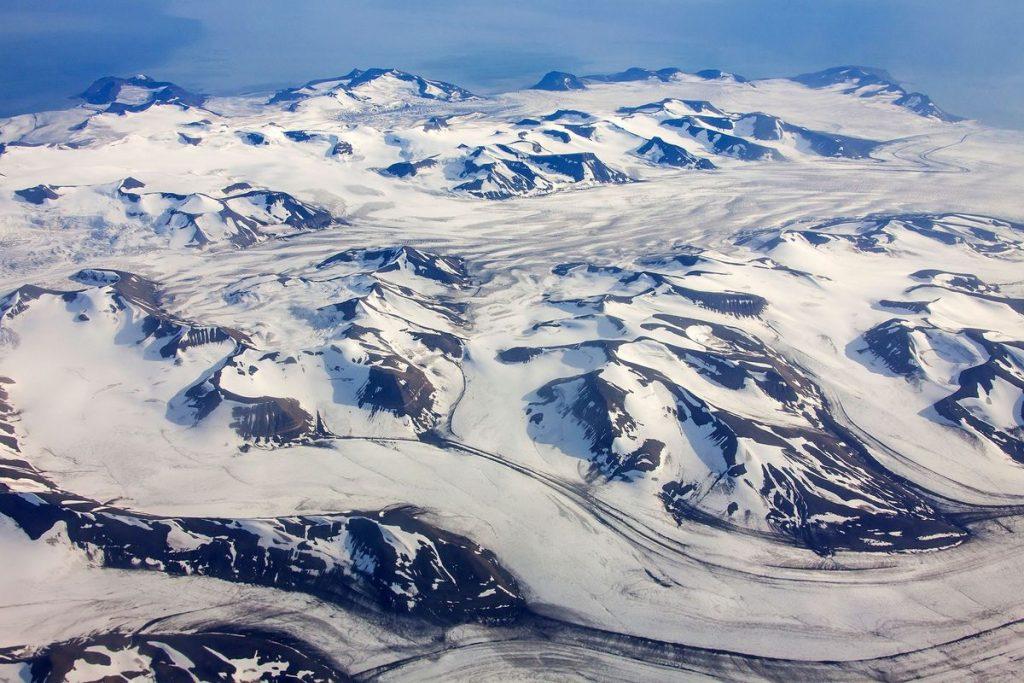 Arctic glaciers,