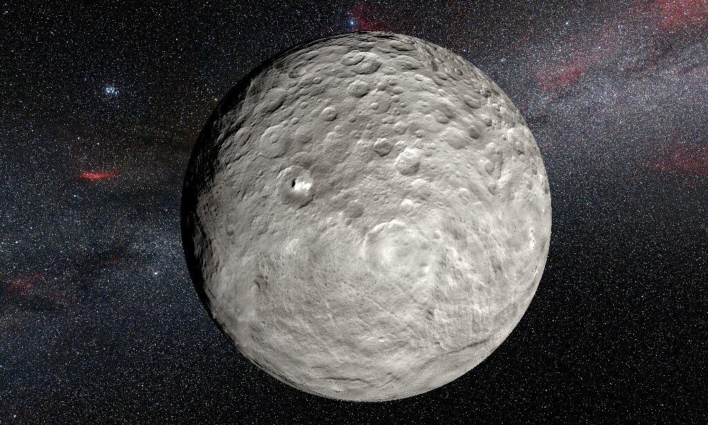 Dwarf planet Ceres, ocean world