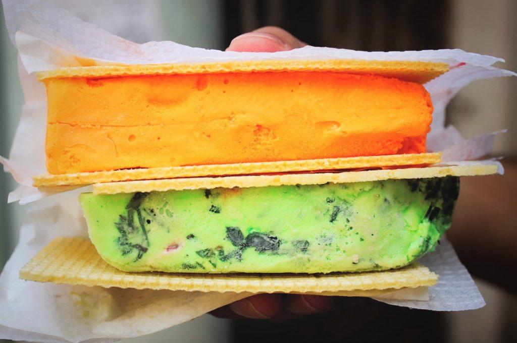 K Rustom, ice cream, street food