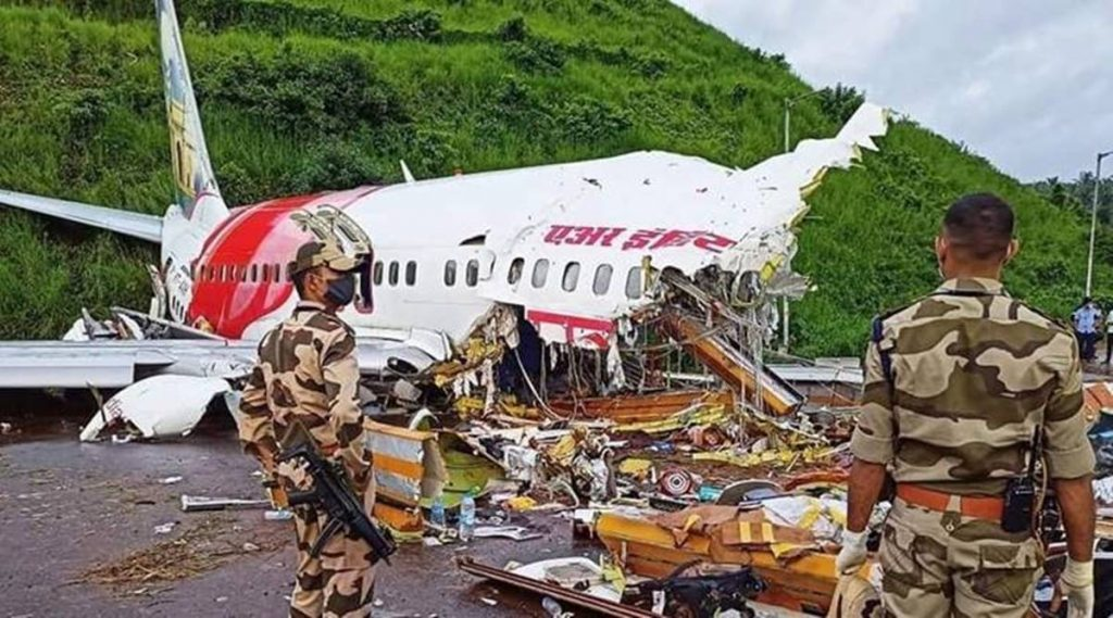Kerala plane crash, covid-19