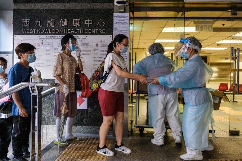 Hong Kong, Free covid-19 testing