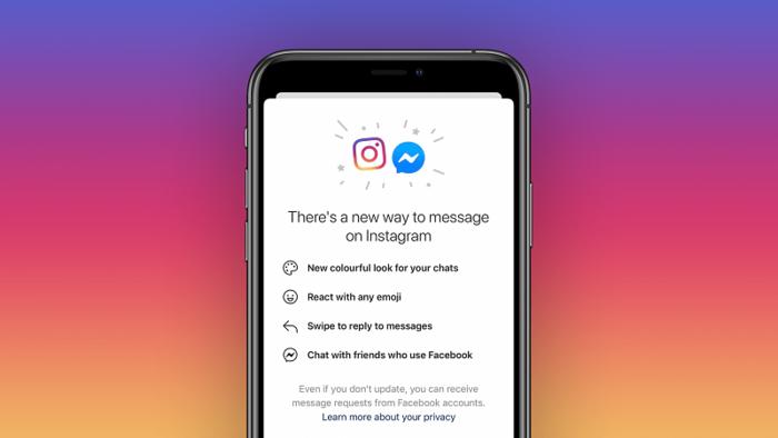 Facebook merges Instagram and Messengers
