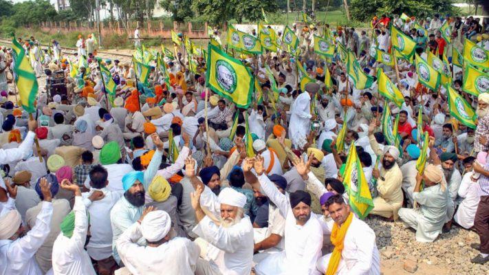 Farmer protest, Farm bill