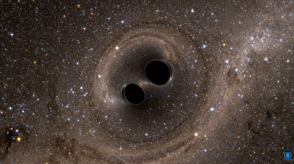 Biggest black hole collision