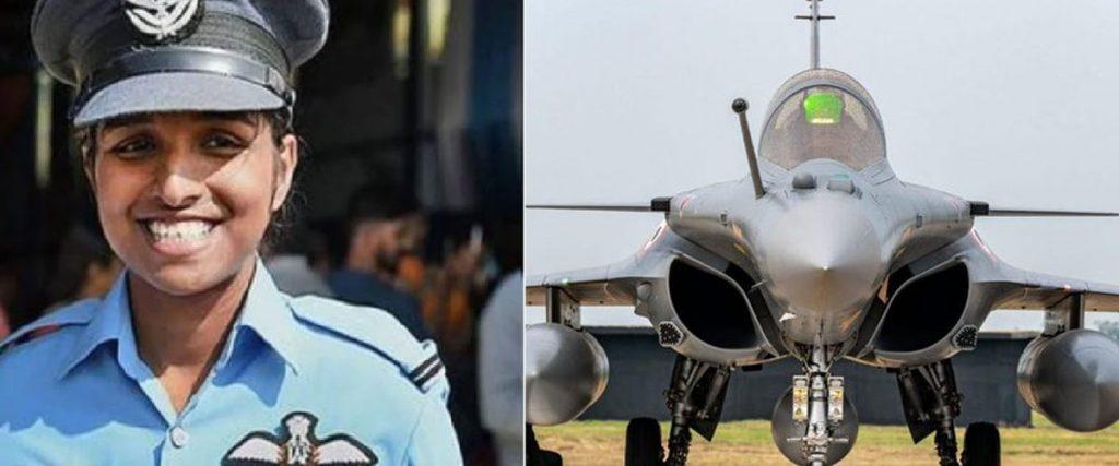 Flight Lieutenant Shivangi Singh, Rafale
