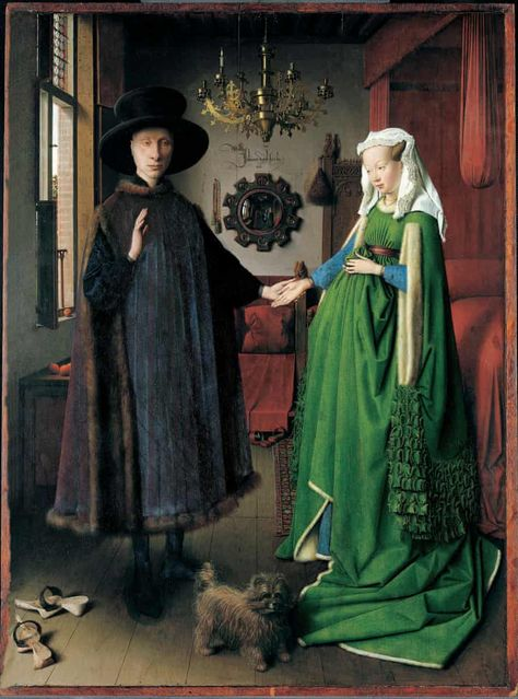 Arnolfini Portrait - Artist: Jan van Eyck