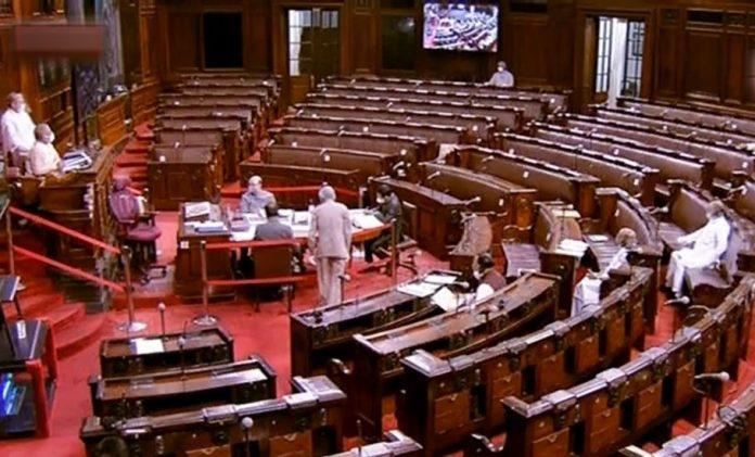 Rajya Sabha, bill passed, opposition boycott