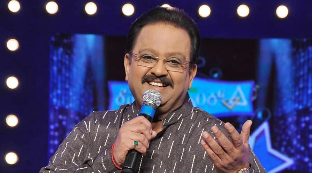 Singer SP Balasubrahmanyam