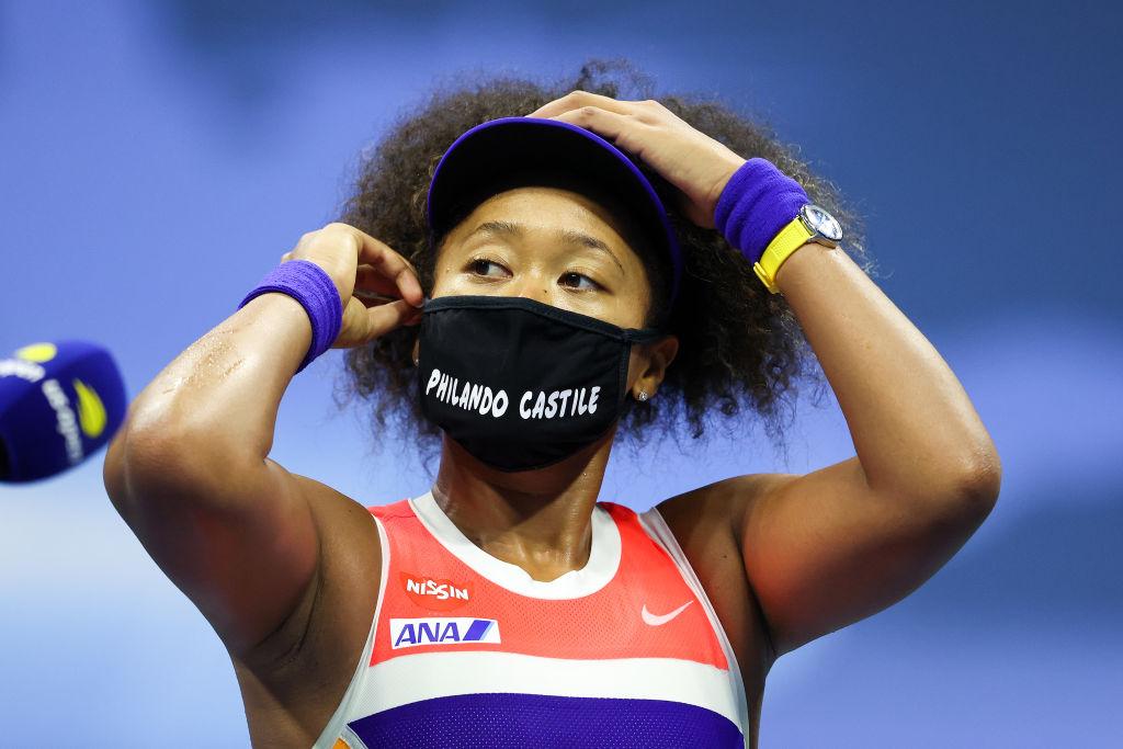 Naomi Osaka, US Open, BLM