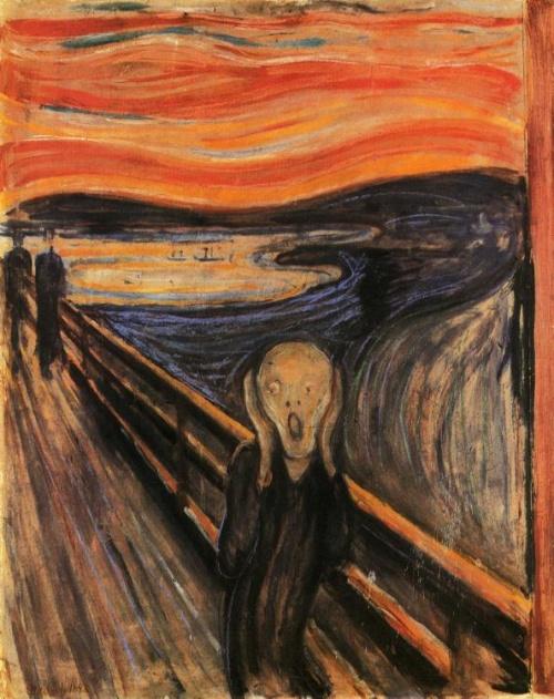 The Scream paintings