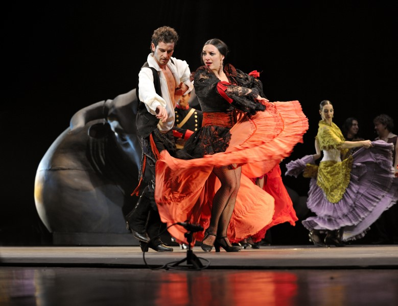 flamenco, damce forms