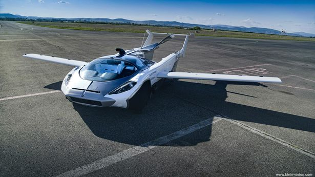 Car that can change into a plane