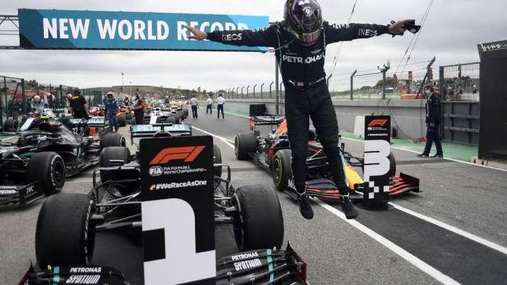 F1 driver Lewis Hamilton