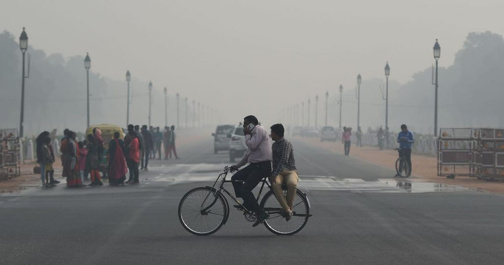 bicycles, pollution