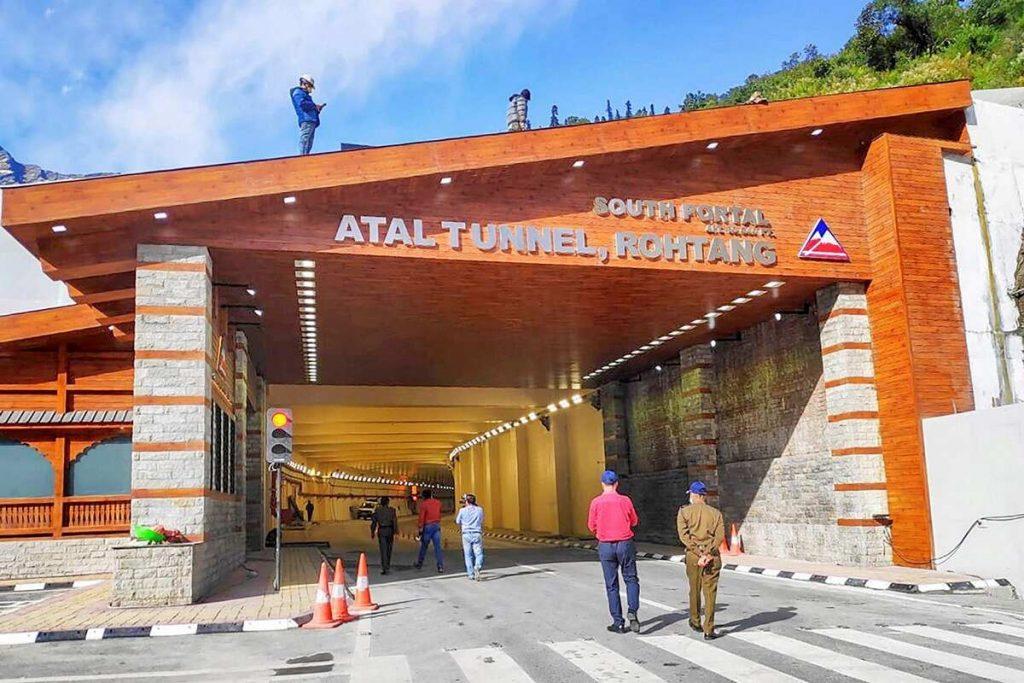 Atal Tunnel, PM Modi, media