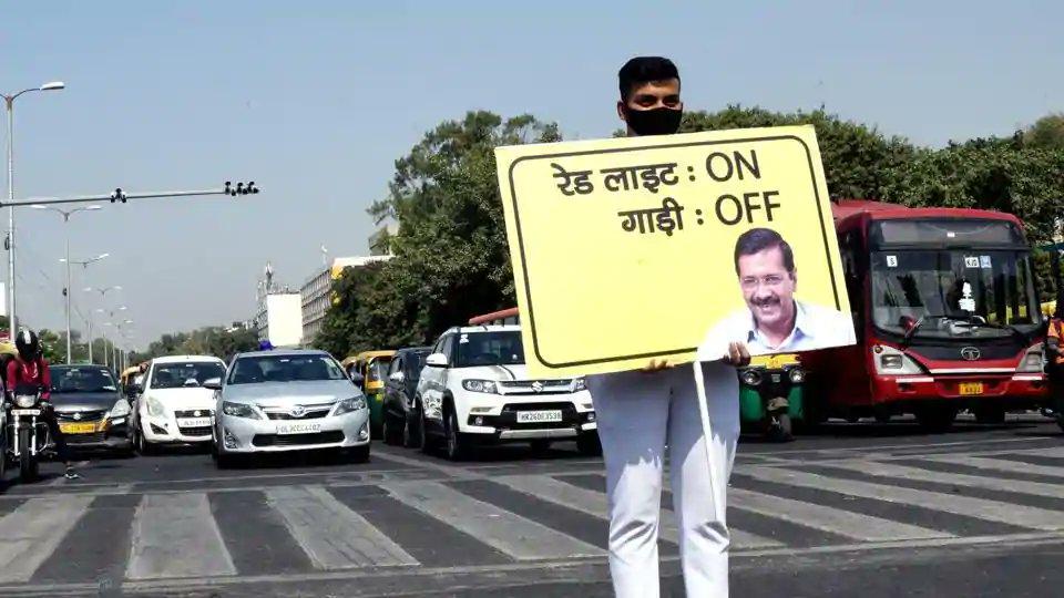 Delhi air pollution, Bihar election