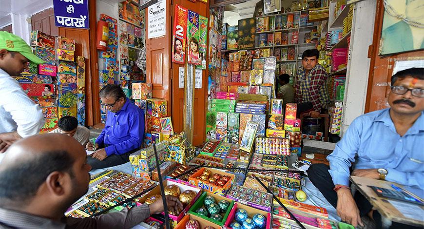sale of crackers, Assam