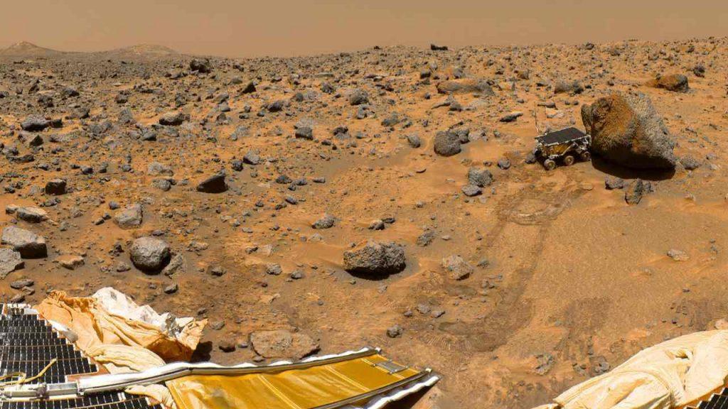 NASA, Mars rock samples