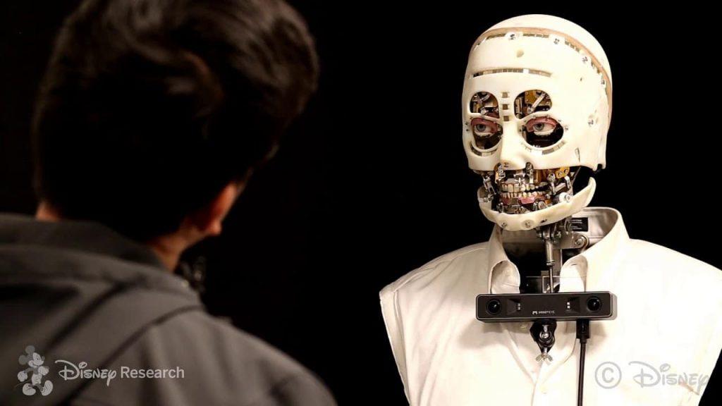 Disney builds horrifying robot