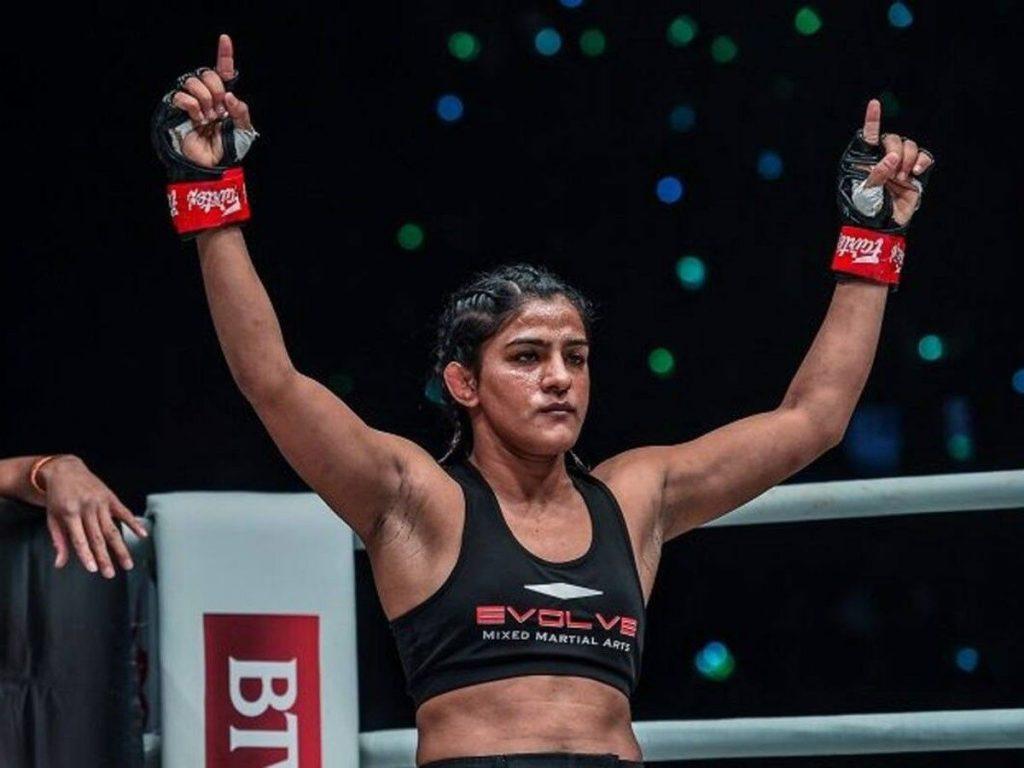 Ritu Phogat, MMA Title