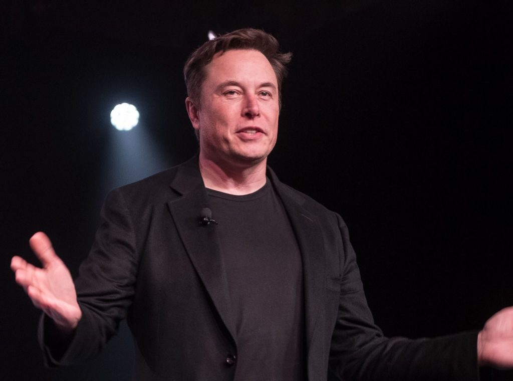 Elon Musk, worlds second richest person