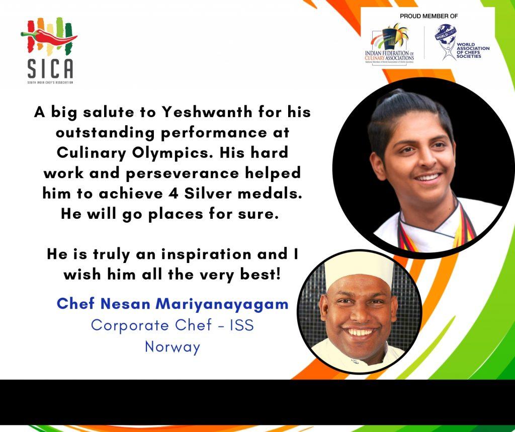 Chef Yeshwanth Kumar Umasankar
