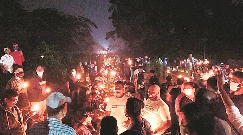 Goa protest
