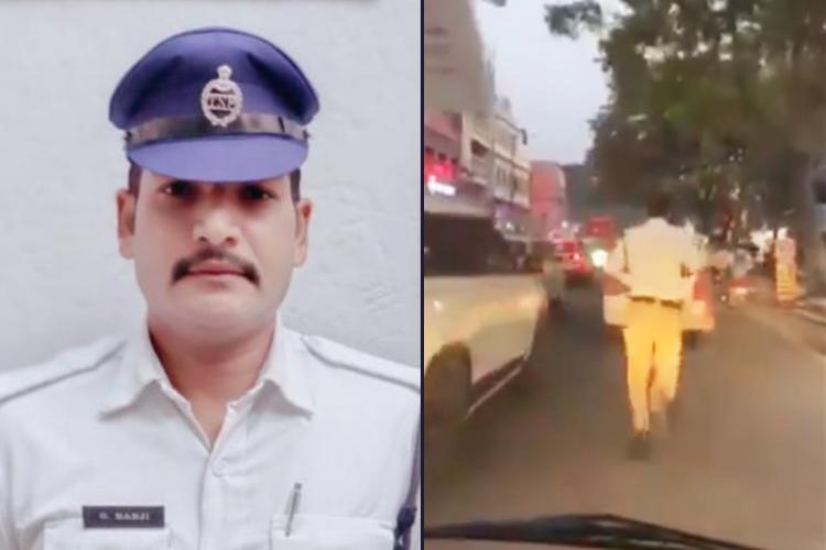 Hyderabad policeman