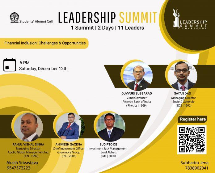 Leadership Summit 2020, IIT Kharagpur