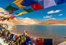 Pangong Tso Lake, indian