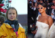 Rihanna, Greta Thunberg