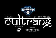 CultRang 2021, IIT Goa